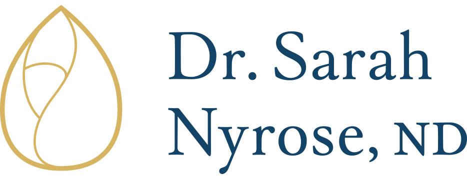 dr. sarah nyrose nd logo